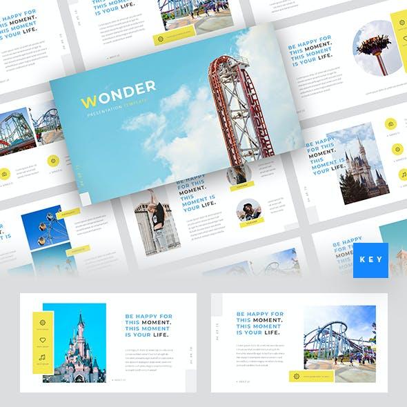 Wonder - Theme Park Keynote Template