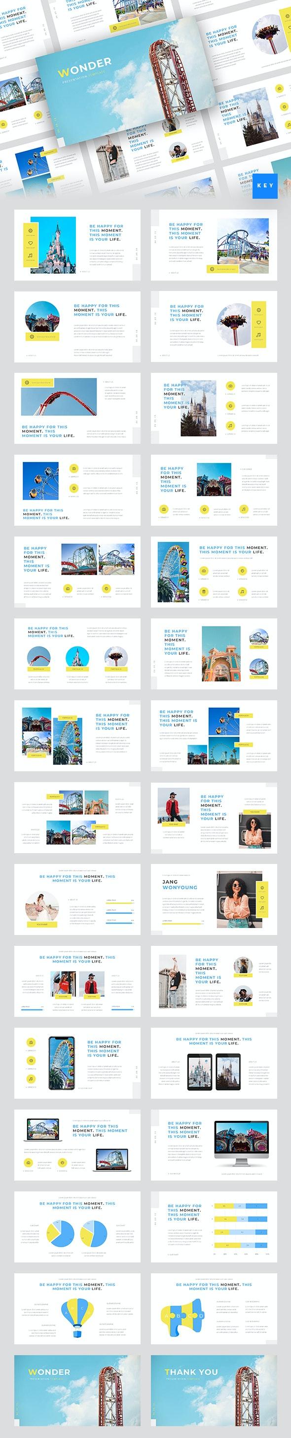 Wonder - Theme Park Keynote Template - Miscellaneous Keynote Templates