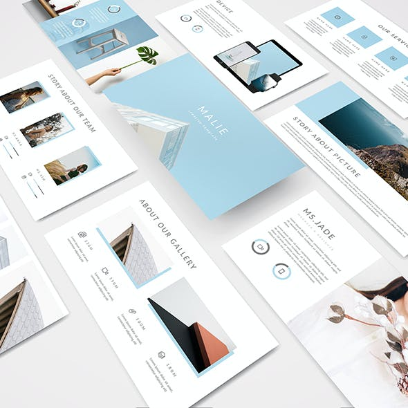 Malie - Creative Powerpoint Template