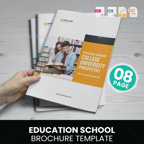 Education Prospectus Brochure v1