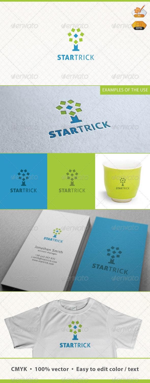 Startrick Logo Template - Symbols Logo Templates