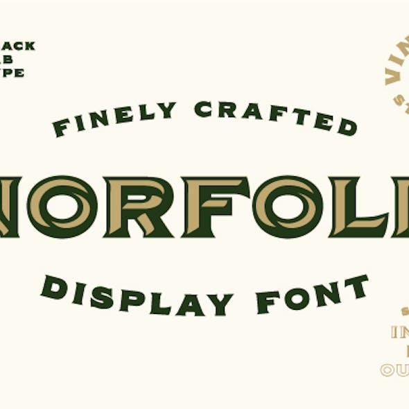 Norfolk - Vintage Font