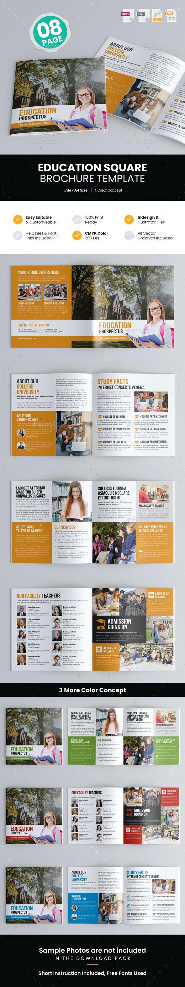 Education Square Prospectus Brochure - Corporate Brochures