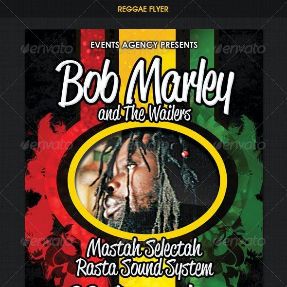 Reggae Rasta Flyer