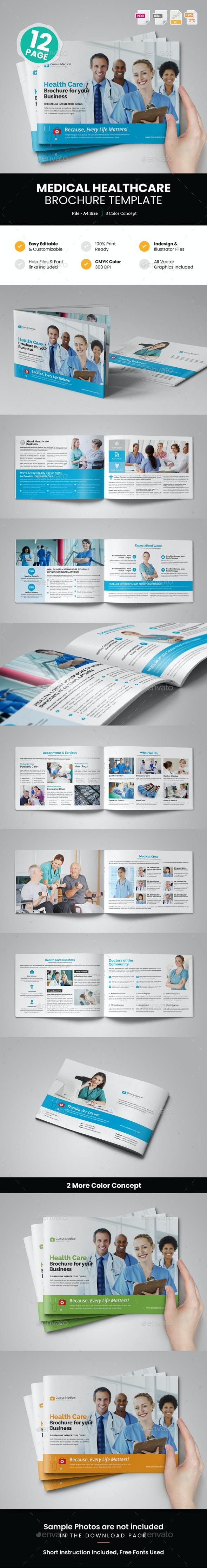 Medical HealthCare Brochure v3 - Corporate Brochures