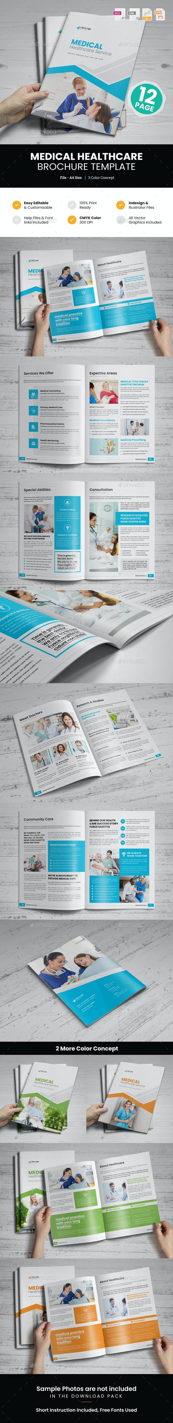 Medical HealthCare Brochure v4 - Corporate Brochures