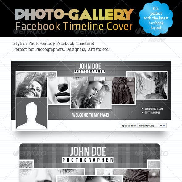 Photo-Gallery Facebook Timeline Cover