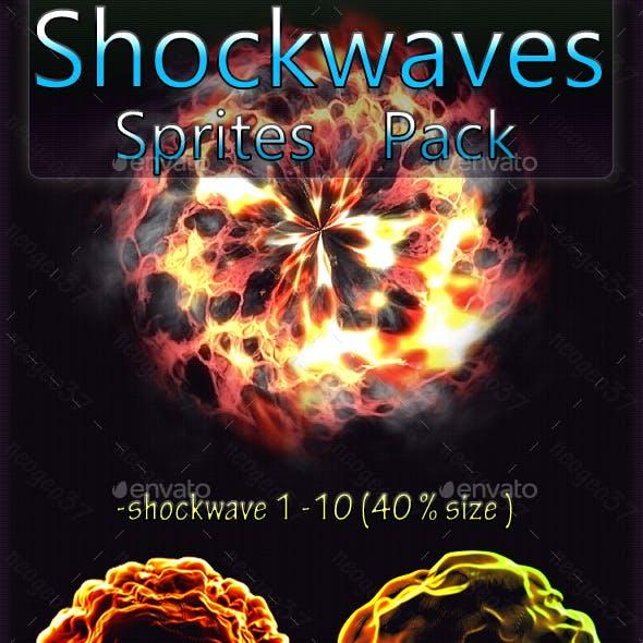 Shockwave Effects Sprites