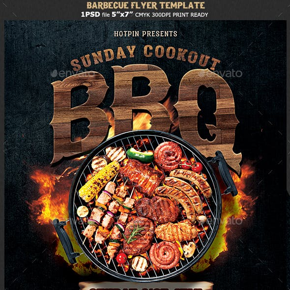 Barbecue Bbq Flyer
