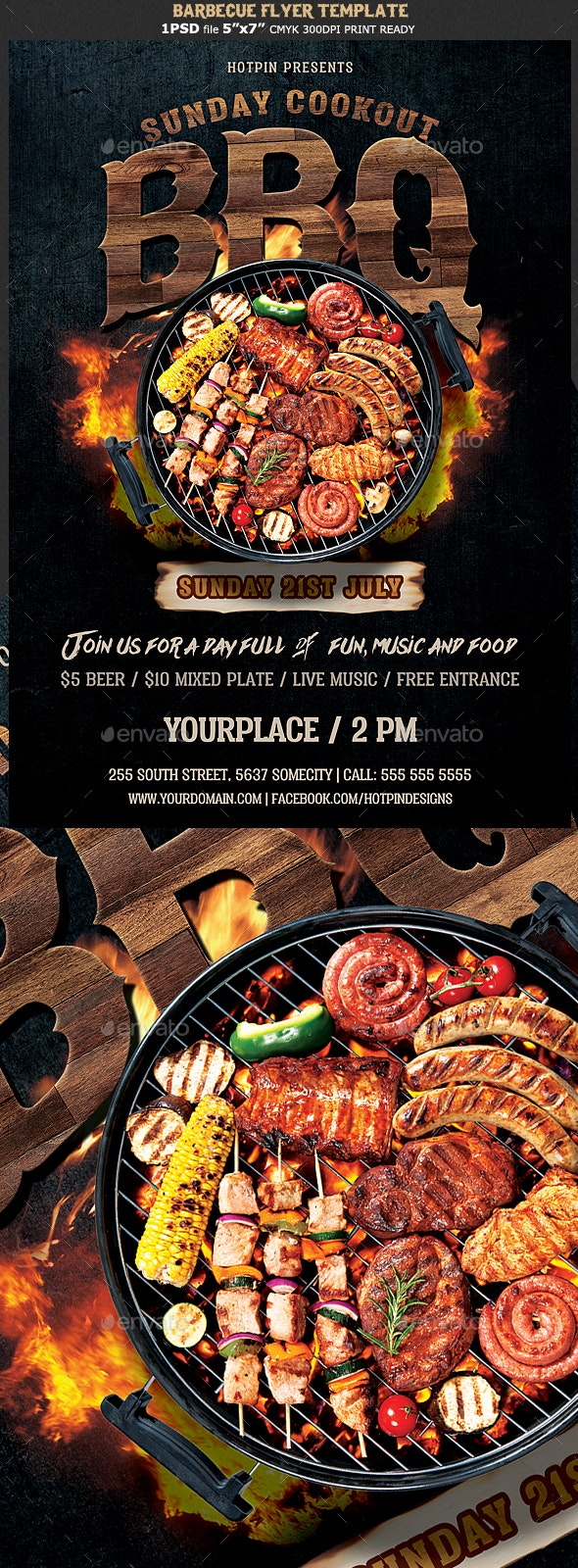 Barbecue Bbq Flyer - Events Flyers