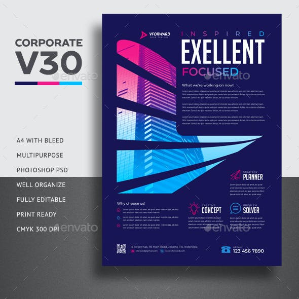 Corporate V30 Flyer