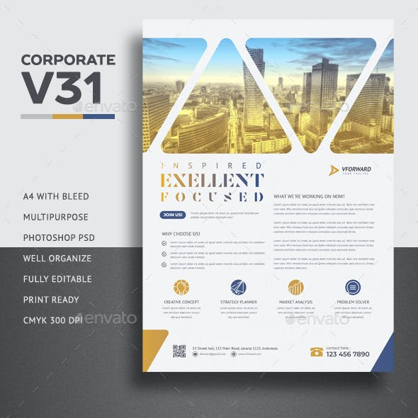 Corporate V31 Flyer