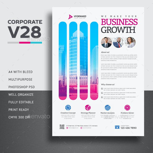 Corporate V28 Flyer