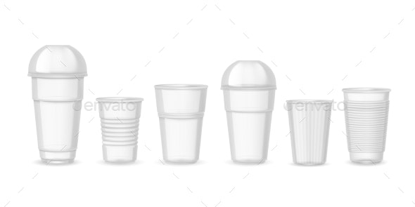 Plastic Cups - Food Objects