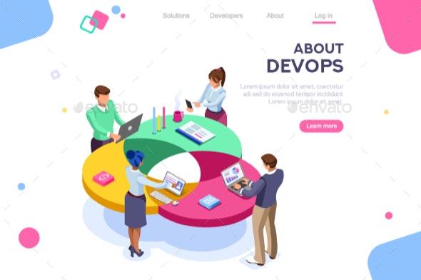 DevOps Programmer Concept - Concepts Business