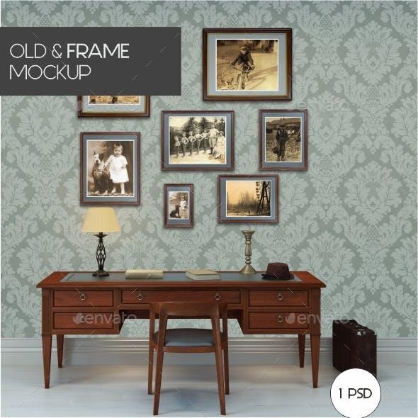 Old Frames Mockup