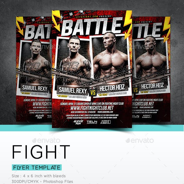 Fight Flyer