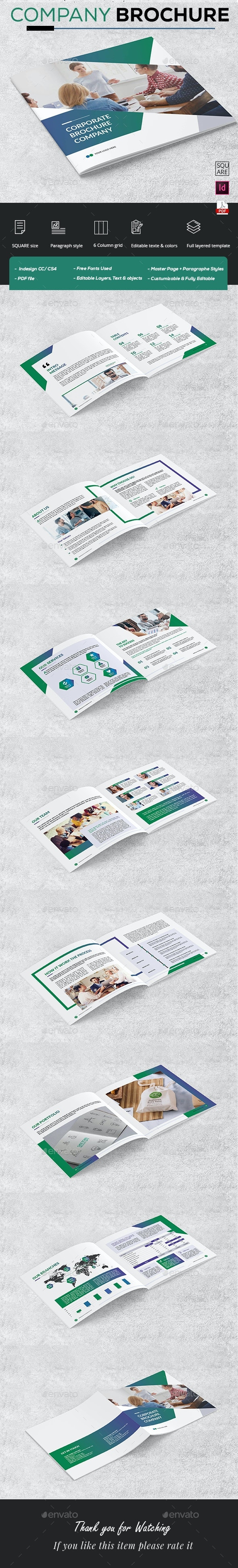 Company Brochure Square - Corporate Brochures