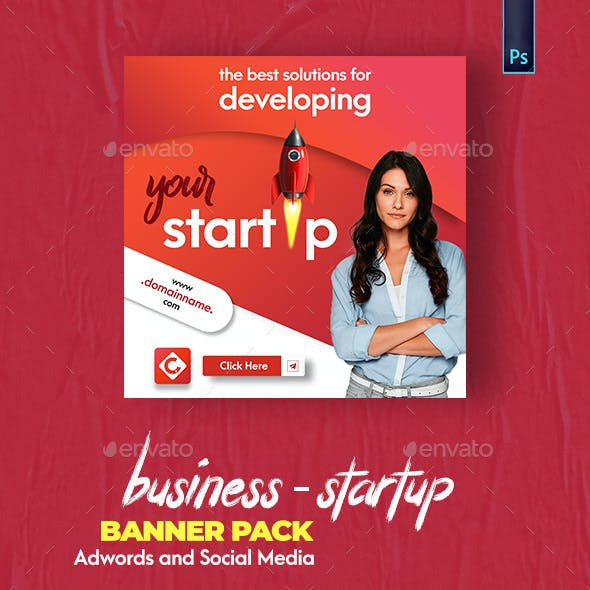 Business - Startup Banner Pack
