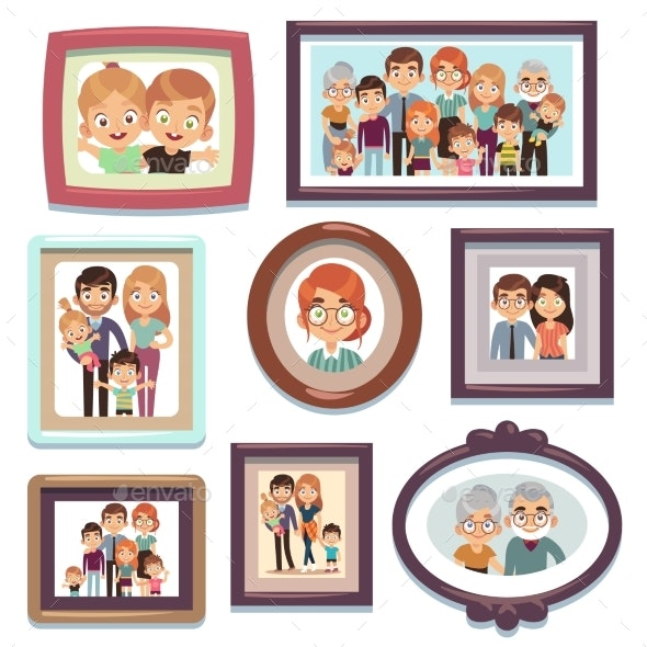 Family Portrait Photos - People Characters