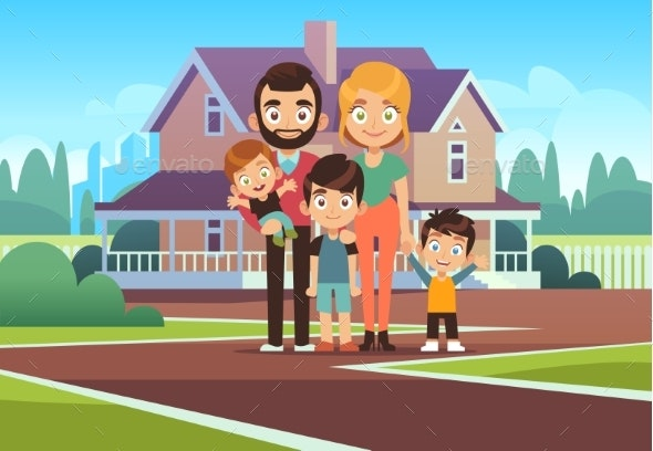 Family House - People Characters