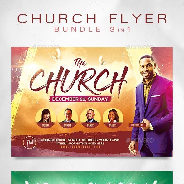 Church Flyer Bundle 4