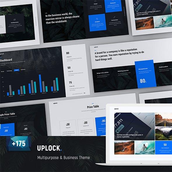 Uplock - Business & Multipurpose Template (PPTX)