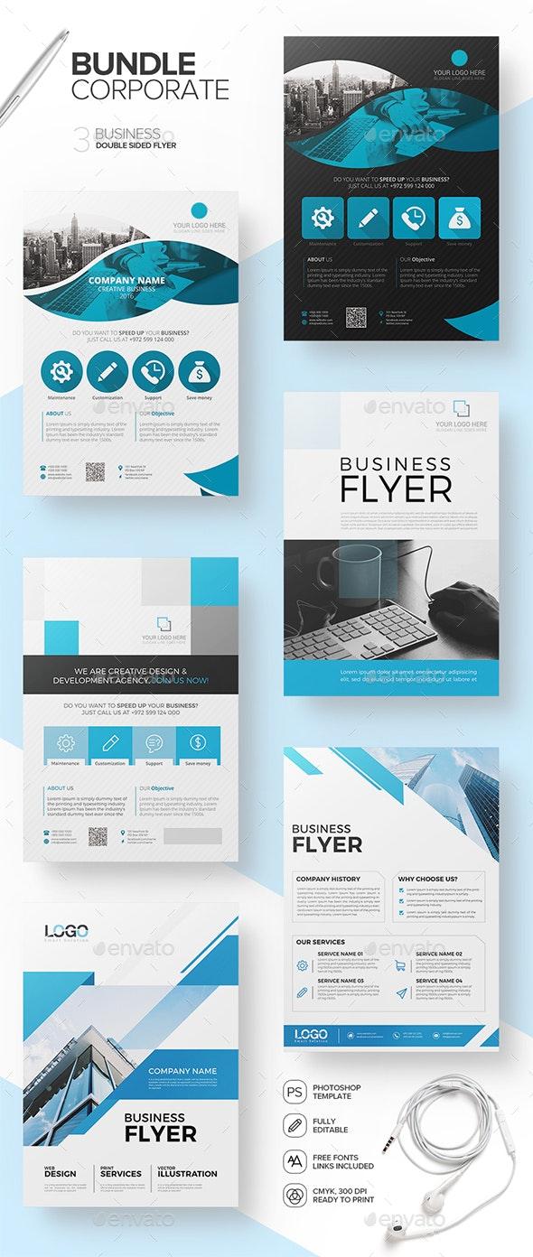 Corporate Bundle Flyers Vol 1.0 - Corporate Flyers