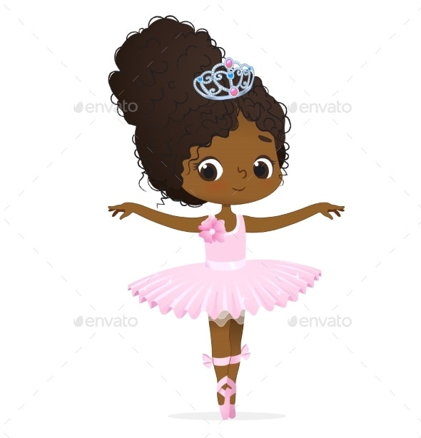 Girl Ballerina Dancing - People Characters