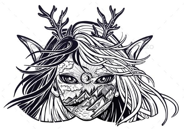 Monster Girl - Monsters Characters