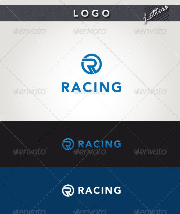 Racing Logo - Letters Logo Templates
