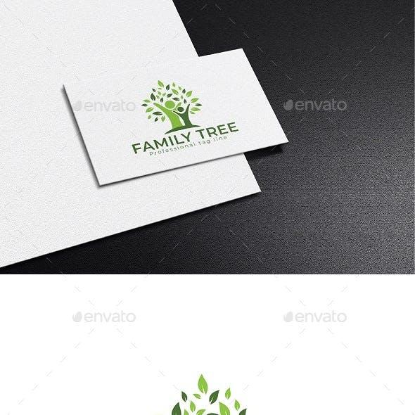 family tree logo desing