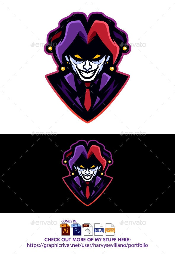 Clown Vector - People Characters