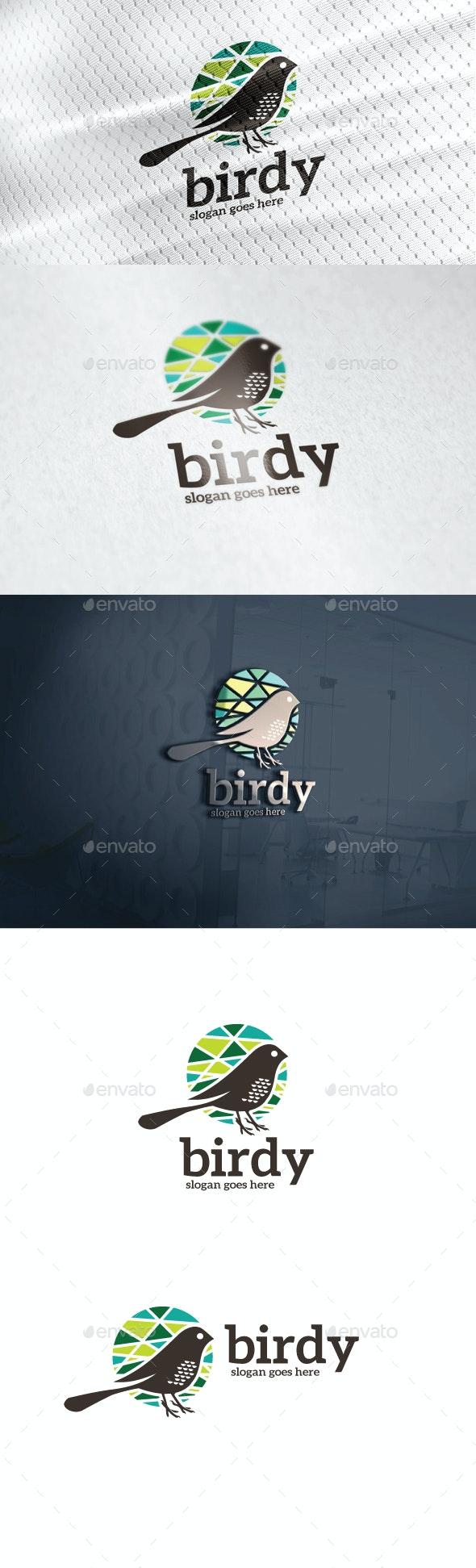 Birdy Logo - Animals Logo Templates