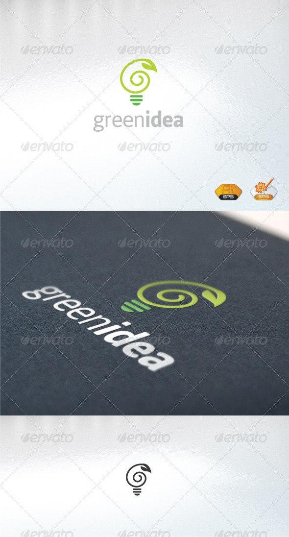 Greenidea - Nature Logo Templates