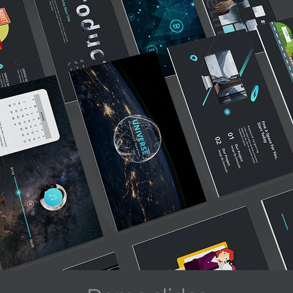 Universe 2.0 Creative Powerpoint Template