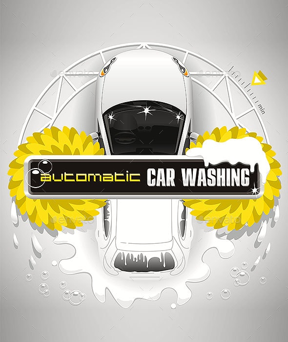 Automatic Car Washing Station - Services Commercial / Shopping