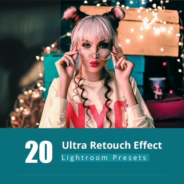 20 Ultra Retouch - Lightroom Preset