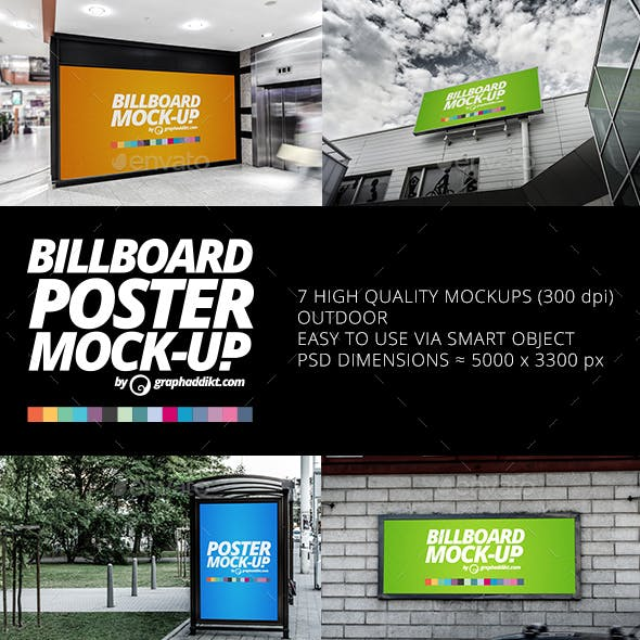 Billboard Poster Mockups