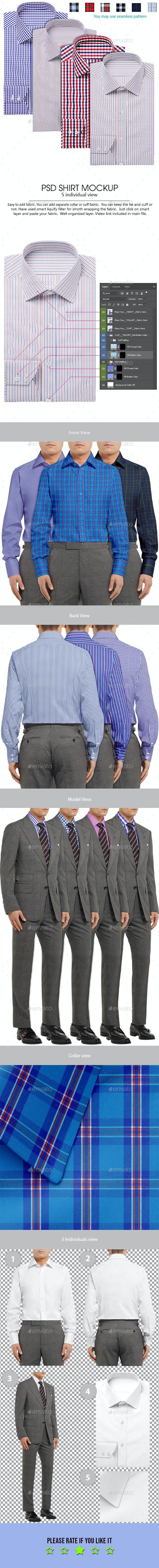 Shirt Mockup - Apparel Product Mock-Ups