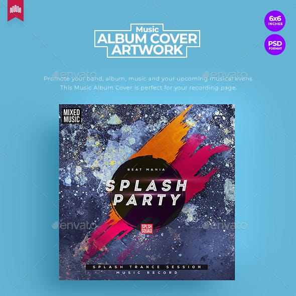 Splash Party - Music Album Cover