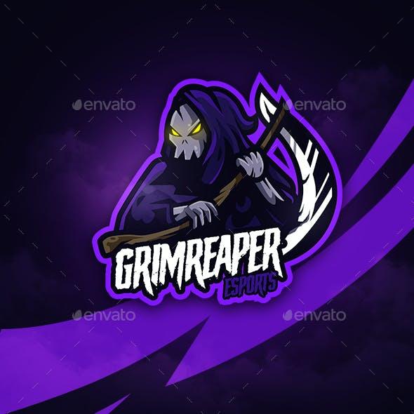 Grimrepaer Mascot Logo Esports