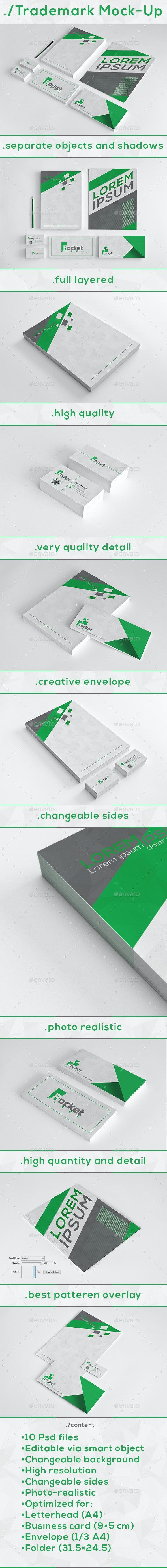 Stationery / Trademark Mock-Up - Stationery Print