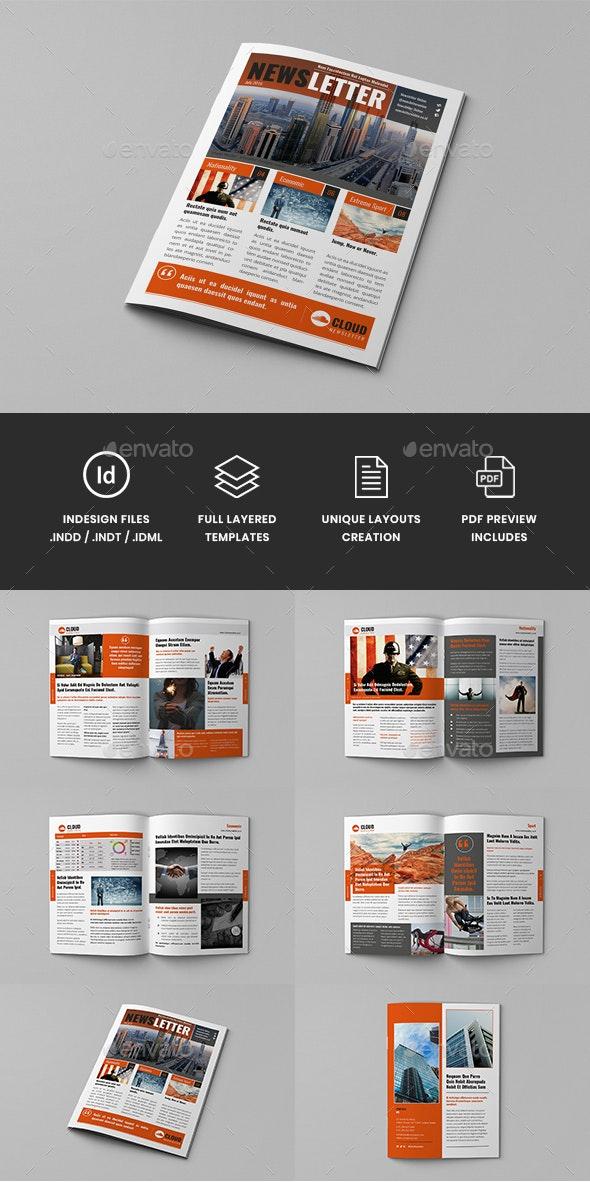 Regyna - Multipurpose Newsletter Template - Newsletters Print Templates