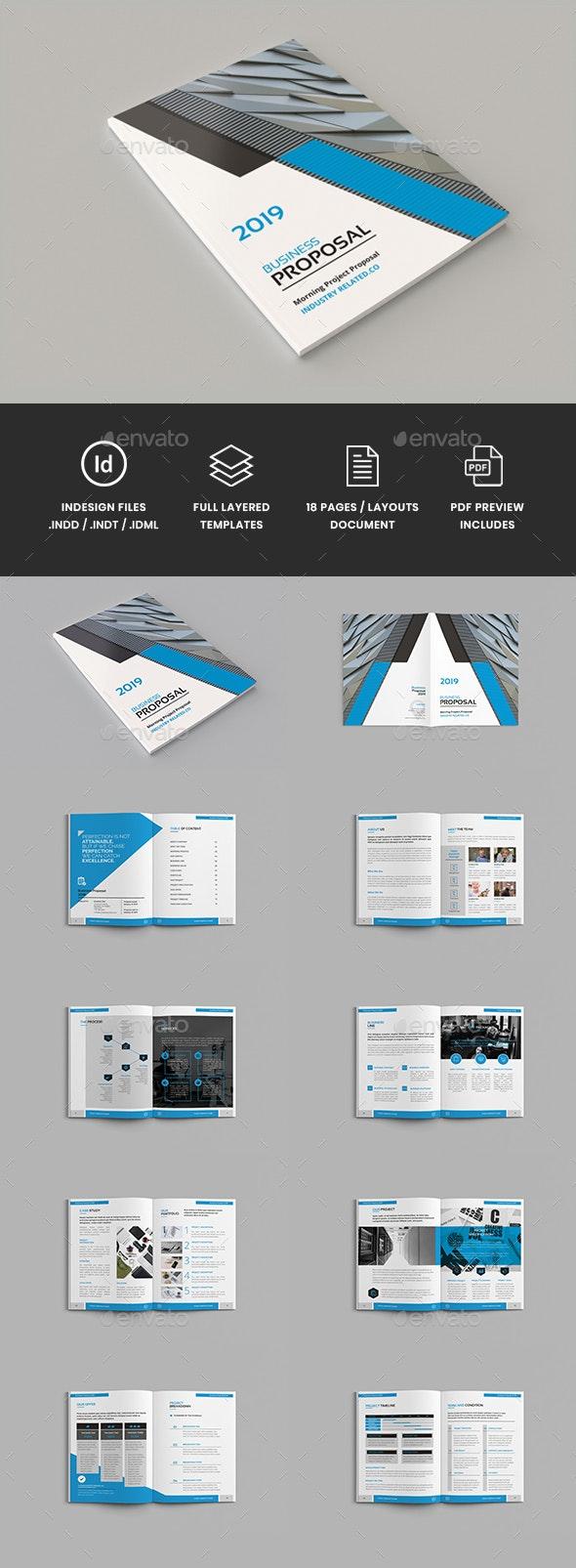Yuzn - A4 Proposal Brochure Template - Corporate Brochures