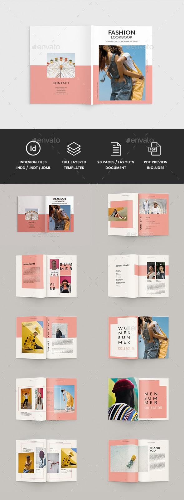 Hypestyle - A4 Fashion Lookbook Brochure Template - Portfolio Brochures