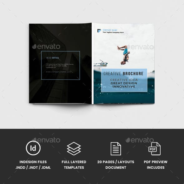 AlvaPro - A4 Creative Brochure Template