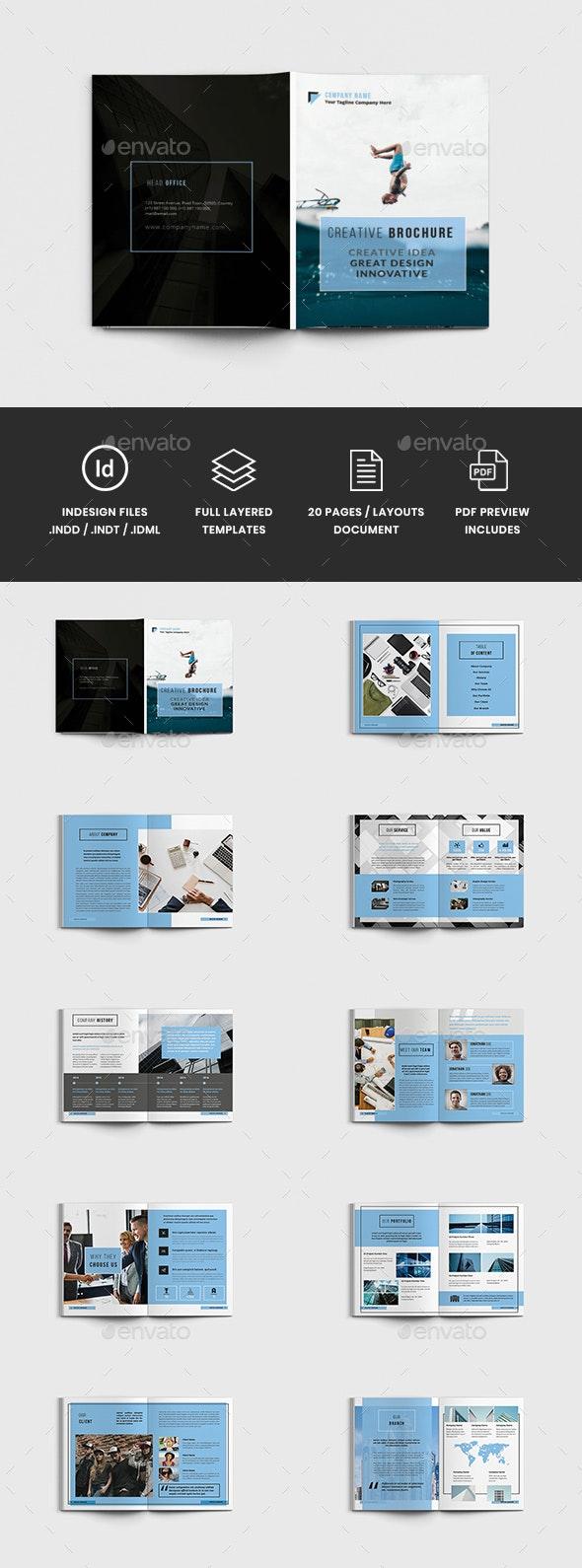 AlvaPro - A4 Creative Brochure Template - Corporate Brochures