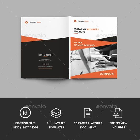 Companion - A4 Business Brochure Template