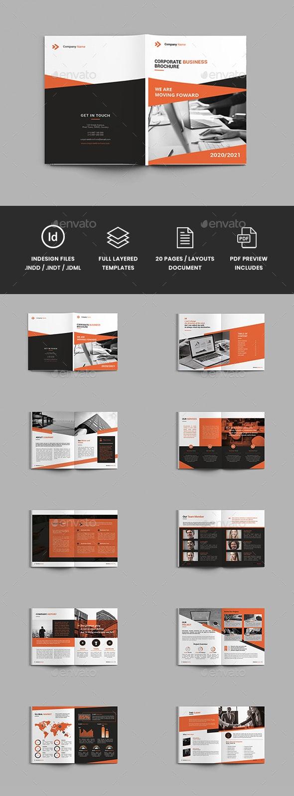 Companion - A4 Business Brochure Template - Corporate Brochures